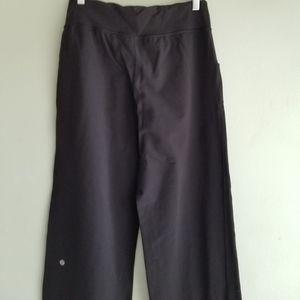 lululemon athletica Pants - Lululemon black drawstring pants 6